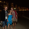 Love this photo.  Waikiki and the ocean at night.