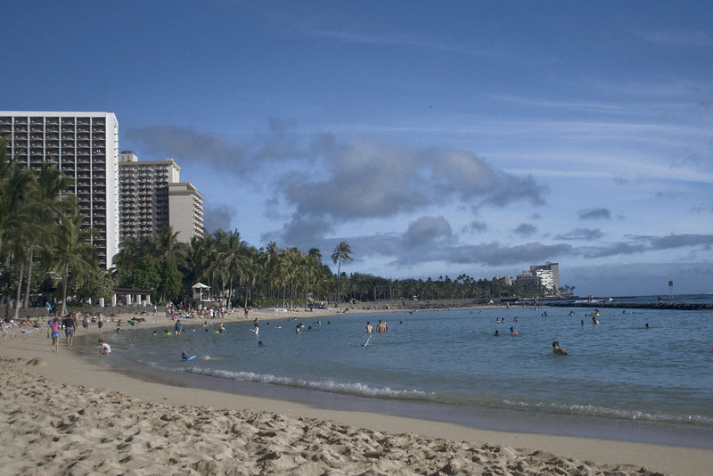 Kuhio Beach Park, Honolulu, HI. <br /> Image Copyright 2011 by DJB.  All Rights Reserved.