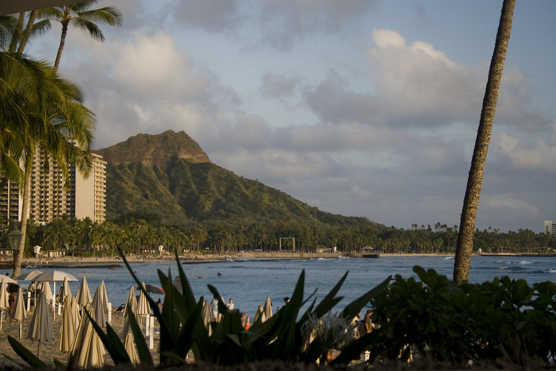 Waikiki Beach, Honolulu, HI. <br /> Image Copyright 2011 by DJB.  All Rights Reserved.
