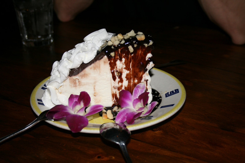 Hula Pie at Duke's Restaurant and Barefoot Bar, Honolulu, HI. Image Copyright 2011 by DJB.  All Rights Reserved.