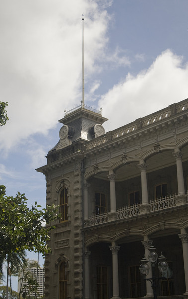 Iolani Palace, Honolulu, HI. <br /> Image Copyright 2011 by DJB.  All Rights Reserved.