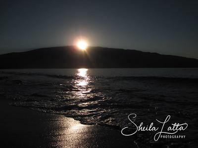 Sunrise over Haleakala on day two.