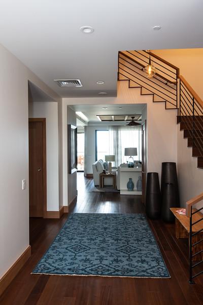 Main hallway view from the front door