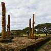 A native Hawaiian amphiteater is being restored near Poipu Beach.