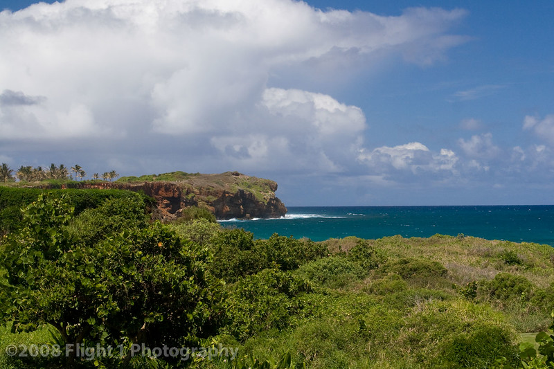 Scenery on the Poipu Bay golf course
