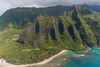 The beginning of the Na Pali Coast