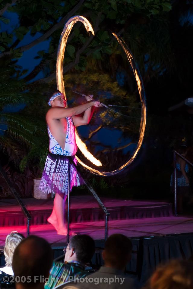 Luau fire balls
