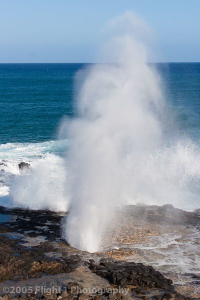 Spouting Horn in Poipu