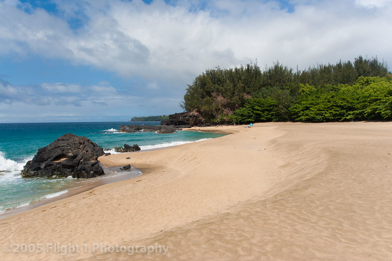 Lumaha'i Bech, where the movie South Pacific was filmed