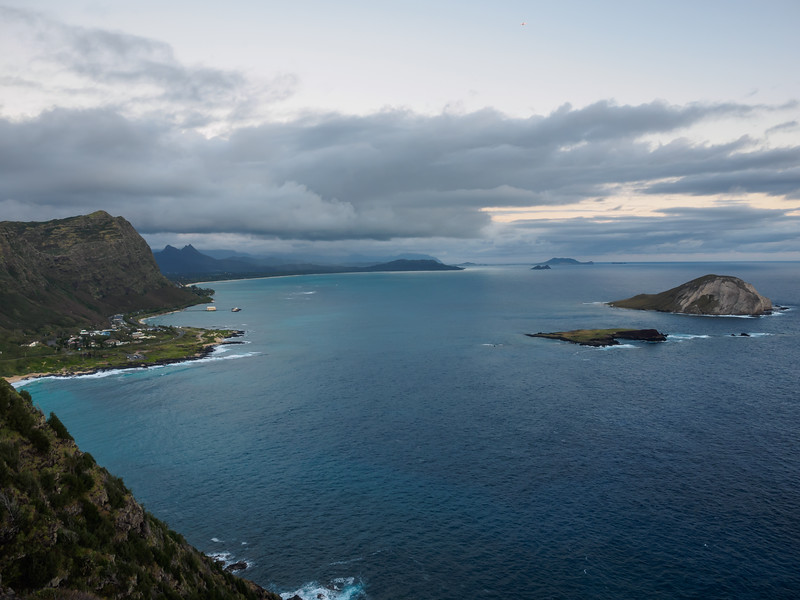 Hiked up to Makapu'u Point for the sunrise.