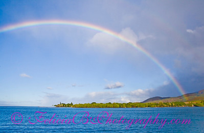 Rainbow from Boat