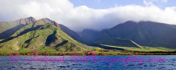 West Maui Mountains pano 01