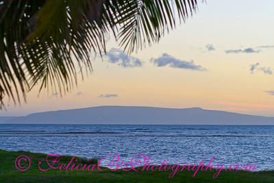 Sunset over Kahoolawe 01