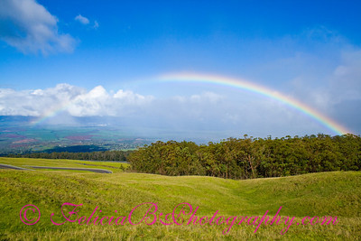 Rainbow from Haleakala 01