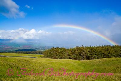 Rainbow from Haleakala 01