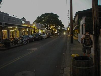 Lahaina Street Scenes