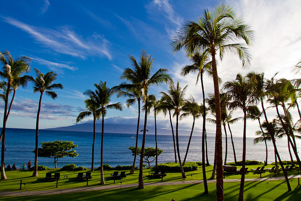 June 20, 2011 - Ok, My first real shot from Maui.  The view from the hotel room.  This is gonna be an awesome week!