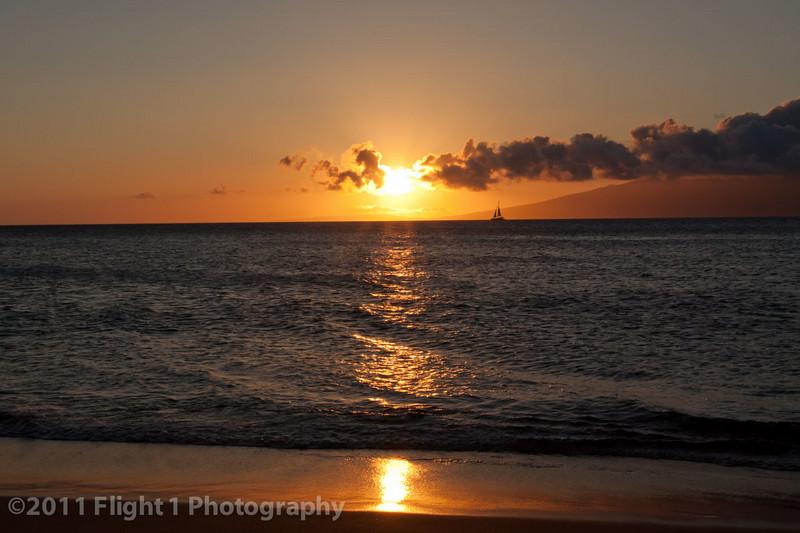 A Maui sunset
