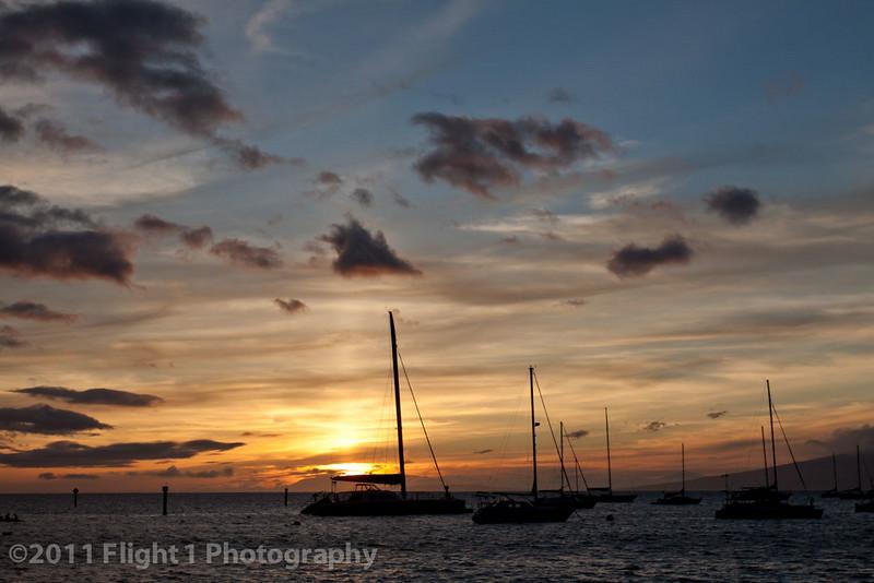A beautiful Maui sunset