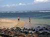 Jeff and Dan at Shipwreck Beach, Lanai