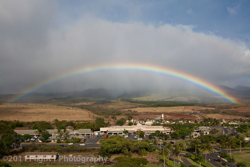 Rainbow over the Star Market