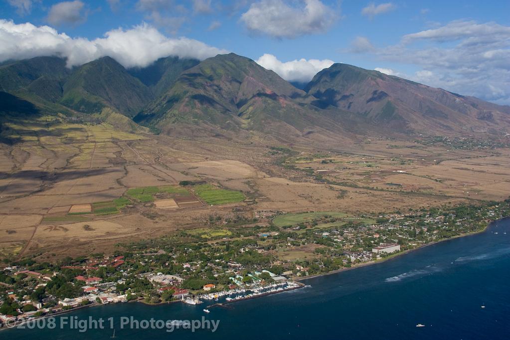 Lahaina and the West Maui Mountains