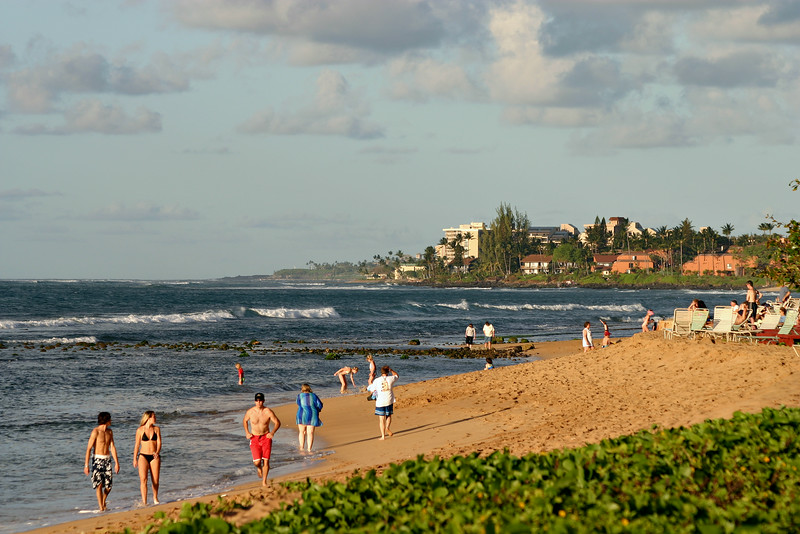 Late Afternoon along North Kaanapali Beach