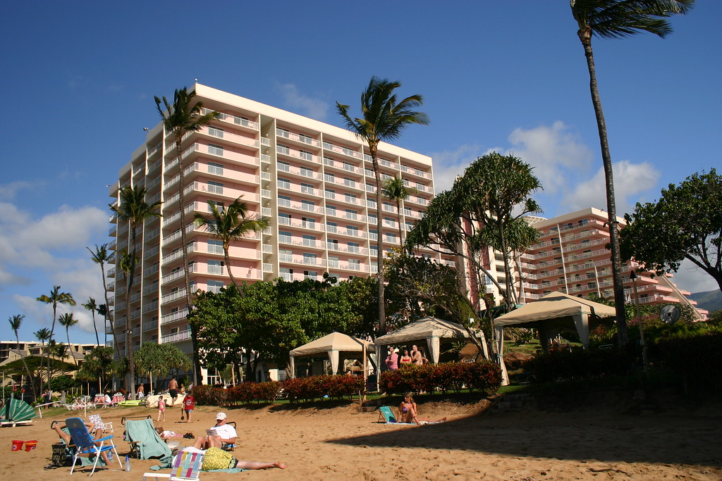 The Kaanapali Beach Club on Maui (formerly the Embassy Vacation Resort)