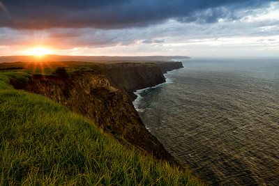 Sunset at the Cliffs