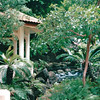 Gazebo and Waterfall - Hilton Hawaiian Village - Honolulu, O'ahu, Hawaii - April 23-29, 2003