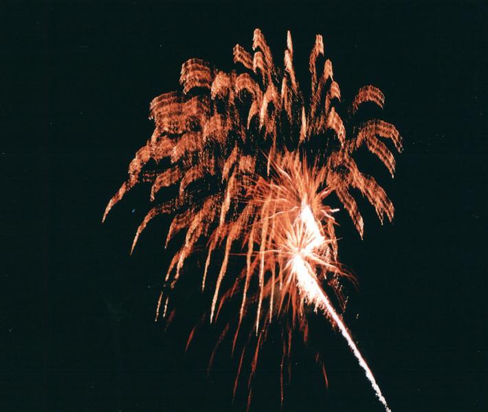 Fireworks at King's Jubilee - Hilton Hawaiian Village - Honolulu, O'ahu, Hawaii - April 23-29, 2003