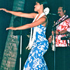 "Solo Dancer - Nature's Sunshine's Closing Luau - Hilton Hawaiian Village - Honolulu, O'ahu, Hawaii - April 23-29, 2003<br /> Today the heritage of this lovely ""poetry in motion"" is more important than ever.  Spiritually uplifting, hula has metaphysical importance for Hawaiians. It shares social commentary, stories and humor.  It sets to movement and chanted poetry the traditions of a culture that had no written language.  Plus it conveys the essence of aloha - great love, caring, sharing, charity, kindness, compassion, mercy and humity."