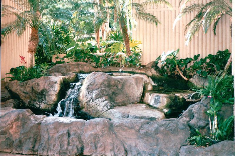 Above Ground Pond in Tapa Towers Area of Hotel - Hilton Hawaiian Village - Honolulu, O'ahu, Hawaii - April 23-29, 2003