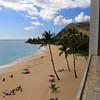 2021-05-12_30_Makaha Cabanas_Papaoneone Beach.JPG<br /> <br /> View from our condo at Makaha Cabanas