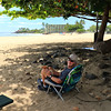 2021-05-12_18_Makaha Beach_Tony.JPG<br /> <br /> Our first picnic of this trip!