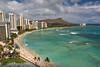 Waikiki Beach and Diamond Head