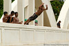 North Shore, kids jumping off a bridge
