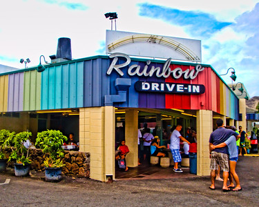 Rainbow Drive-In (where the locals go)
