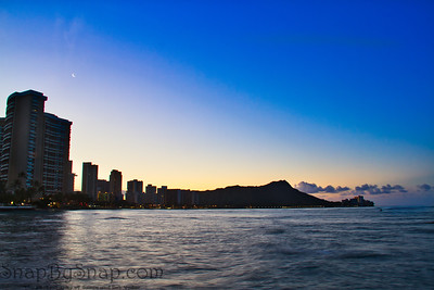 Diamond Head in the Morning
