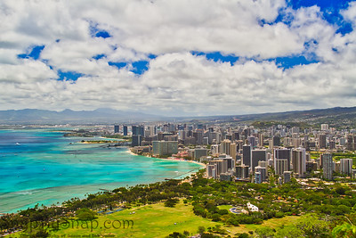 Honolulu From Up High