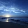 The sun goes down on Sunset Beach.