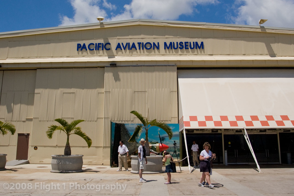 The Pacific Aviation Museum on Ford Island in Pearl Harbor