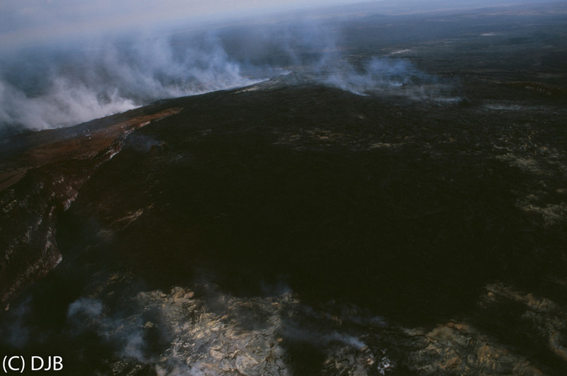 "Volcanoes National Park (via Helicopter), Hawaii. Image Copyright 2013 by DJB.  All Rights Reserved.  <a href=""http://www.DaveXMasterworks.com"">http://www.DaveXMasterworks.com</a>,  <a href=""http://www.facebook.com/DaveXMasterworksPhoto"">http://www.facebook.com/DaveXMasterworksPhoto</a>."