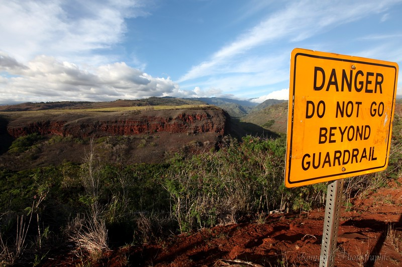 Hawaii's grand canyon.