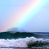 For surfers, at the end of the rainbow is a perfect wave.