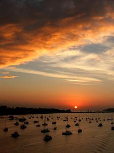 Panama City Harbor Sunrise