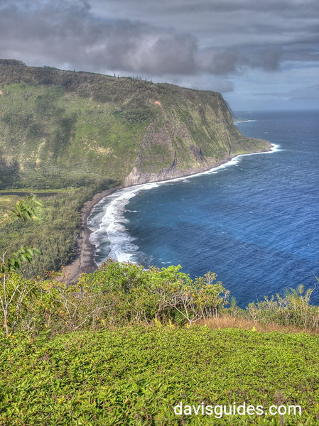 Waipio Valley from lookout, Big Island