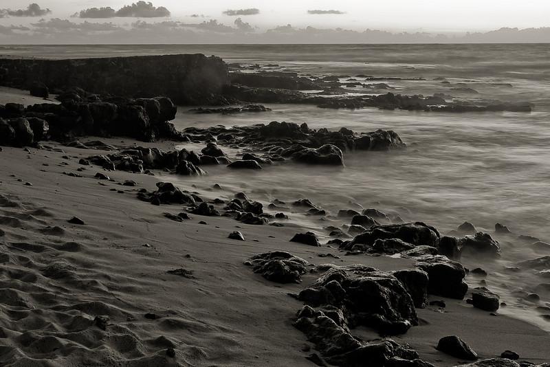 """Morning Beach - Mono"" Oahu, Hawaii, USA"