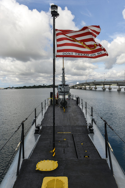 USS Bowfin at Pearl Harbor, Oahu, Hawaii
