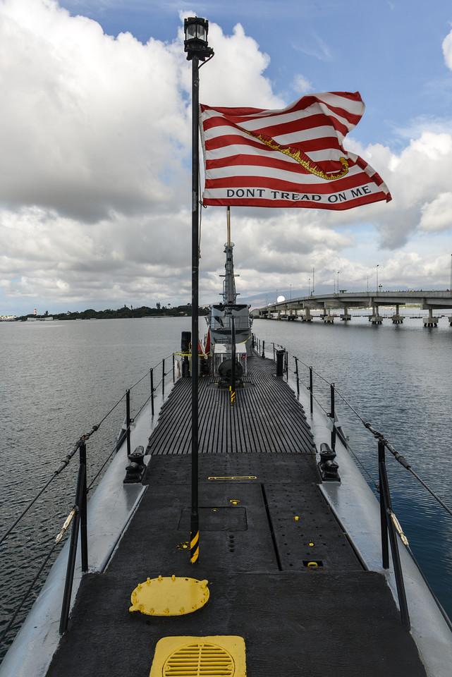 USS Bowfin at Pearl Harbor, Oahu, Hawaii